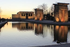 Madrid Templo de Debod - home of Ungoti