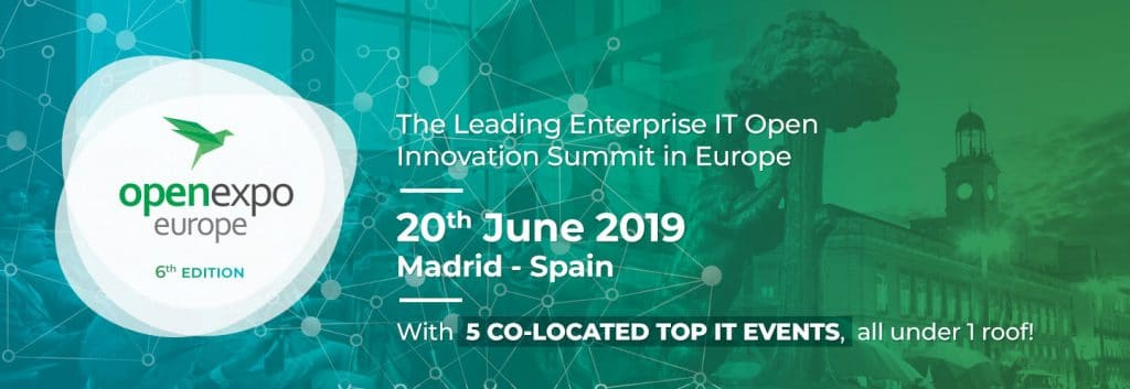Open Expo Europe Madrid 2019