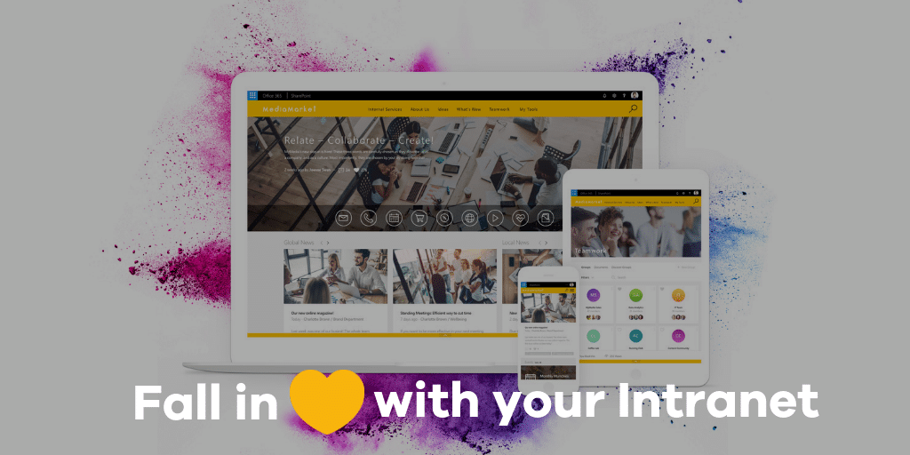 Intranet in a box -fall in love with your intranet