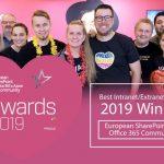 Valo wins Best Intranet Extranet Solution ESPC 2019