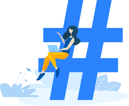 implemented hashtag